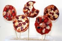 Cách làm món pizza kẹo mút