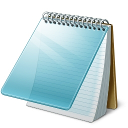 notepad exe