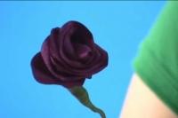 Cách làm hoa từ ruy băng