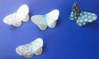 Cách xếp bướm giấy đơn giản và dễ thương