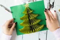 Cách làm thiệp Giáng Sinh 3D cực đẹp