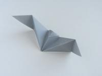 Cách xếp con dơi giấy Origami
