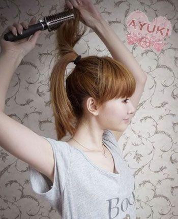 Cách tạo kiểu tóc búi tròn 2