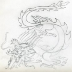 Cách vẽ rồng-10