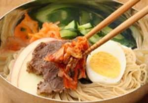 Cách nấu món mì lạnh của Hàn Quốc 7