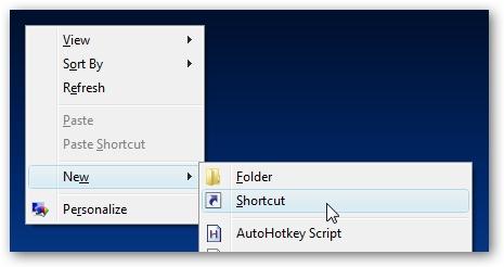 Cách tạo shortcut để Shutdown/Restart/Lock máy tính trên Windows Vista & Windows 7 1