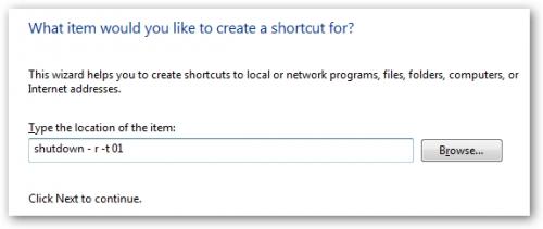 Cách tạo shortcut để Shutdown/Restart/Lock máy tính trên Windows Vista & Windows 7 2
