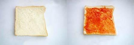 Cách làm bánh pizza từ bánh sandwich 1