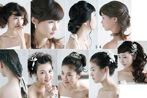 Các kiểu tóc đẹp cho cô dâu trong ngày cưới 3