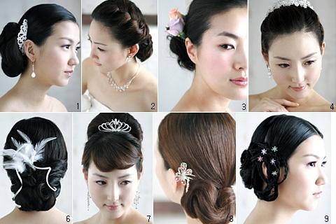 Các kiểu tóc đẹp cho cô dâu trong ngày cưới 4