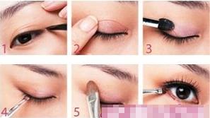 Cách trang điểm mắt với tông màu hồng nâu 2