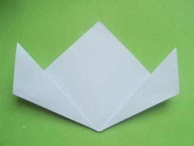 Cách xếp hoa anh đào bằng giấy 3