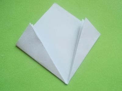 Cách xếp hoa anh đào bằng giấy 6