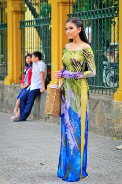 áo dài 2012